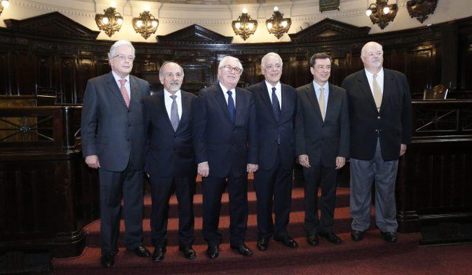 Apatej participa da posse do novo Conselho Superior da Magistratura do Tribunal de Justiça