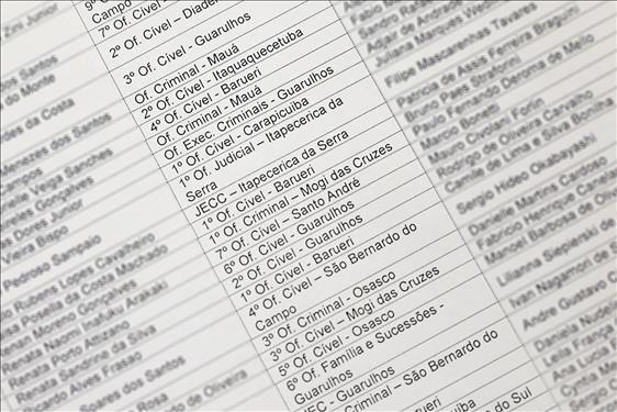 Tribunal de Justiça nomeia 519 servidores para o cargo de assistente judiciário